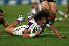 Kiwi Kevin Proctor plays for the Melbourne Storm, the club to be bought today by another Kiwi (AAP file)